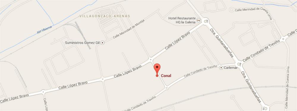 Localización Conal